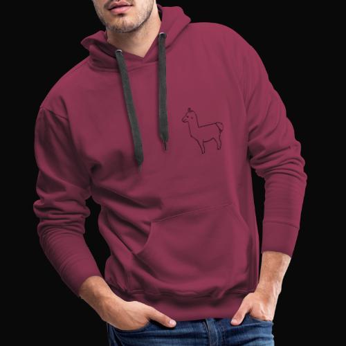 Lama Design - Männer Premium Hoodie