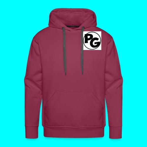 tshirt logo copy jpg - Men's Premium Hoodie