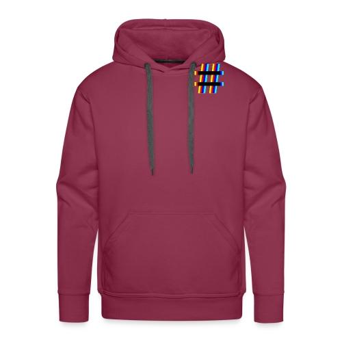 Hashtag FuturLogo - Sweat-shirt à capuche Premium pour hommes