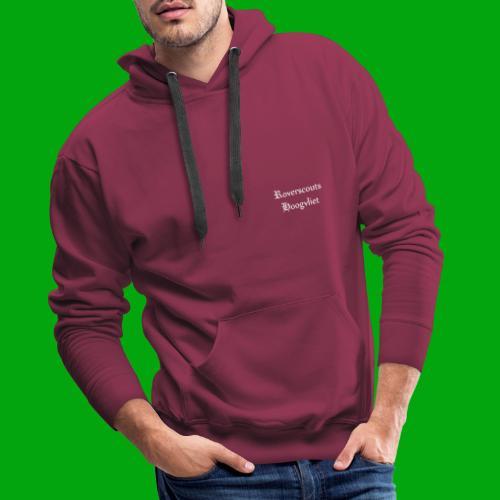 Rover logo en Tekst, Je kan zelf naam toevoegen - Mannen Premium hoodie