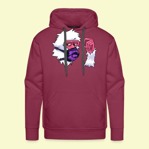 Snow Monkey Rave Mask - Men's Premium Hoodie