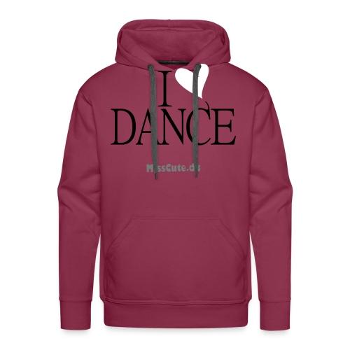 I LOVE DANCE - Herre Premium hættetrøje
