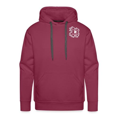 #uV Logo White - Männer Premium Hoodie