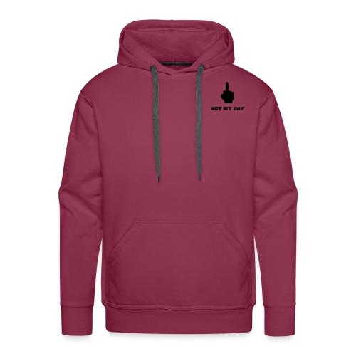 NOTMYDAY - Sweat-shirt à capuche Premium pour hommes