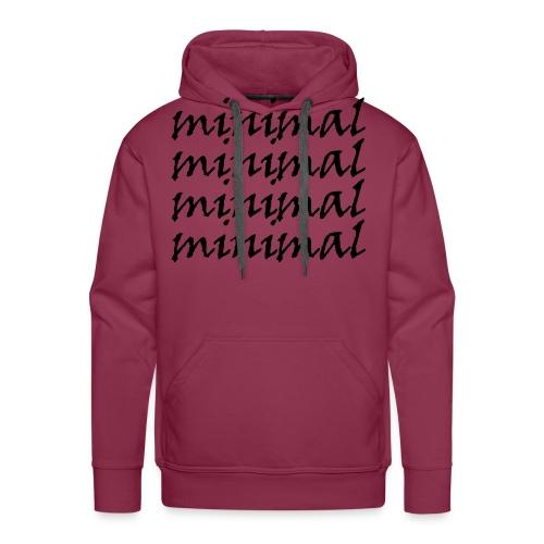 Minimal Design - Männer Premium Hoodie