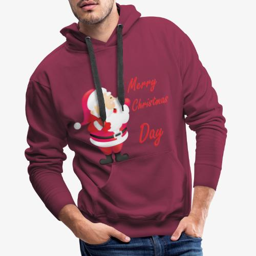 Merry Christmas Day Collections - Sweat-shirt à capuche Premium pour hommes