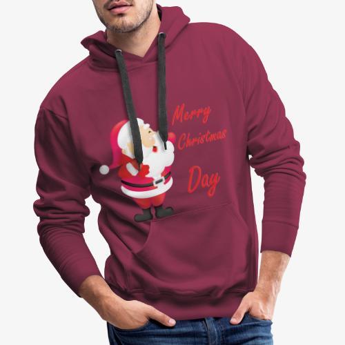 Merry Christmas Day Collections - Sweat-shirt à capuche Premium pour hommes