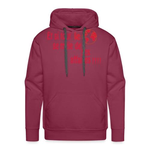 BNT création - Sweat-shirt à capuche Premium pour hommes