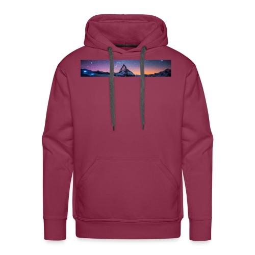 Mountain sky - Männer Premium Hoodie