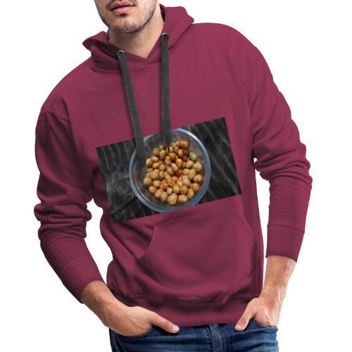 Cacahuate - Sudadera con capucha premium para hombre