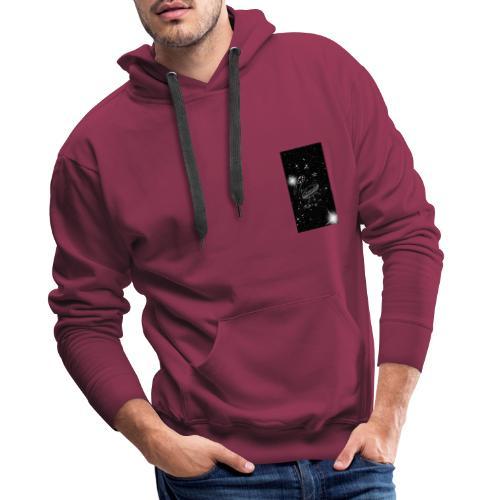 La tête dans les étoiles - Sweat-shirt à capuche Premium pour hommes