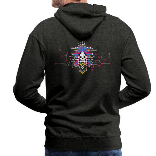 NUIT DU HACK SKELETON - Sweat-shirt à capuche Premium pour hommes