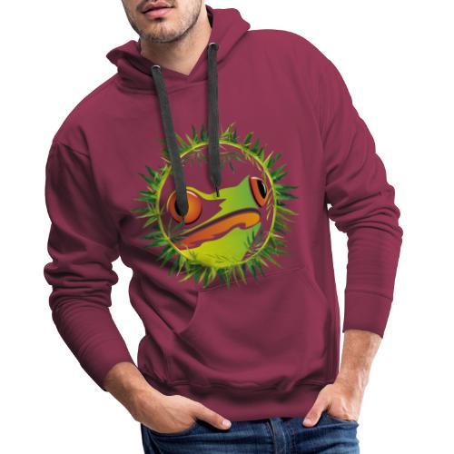 Frosch - Männer Premium Hoodie