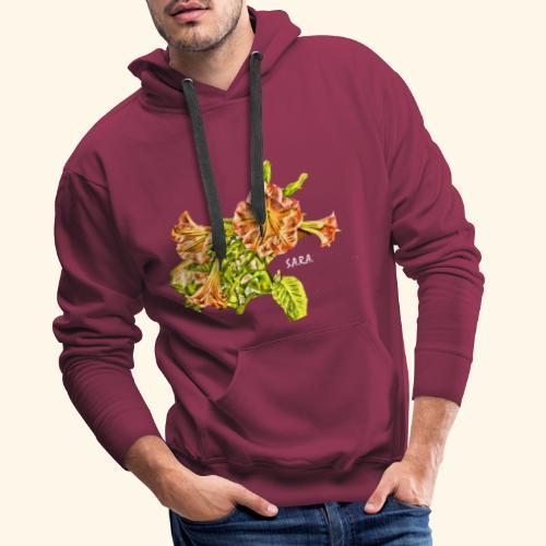 Trompetenbaum Blüten von S.A.R.A. - Männer Premium Hoodie