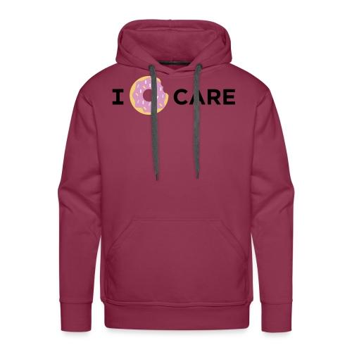 I Donut Care - Mannen Premium hoodie