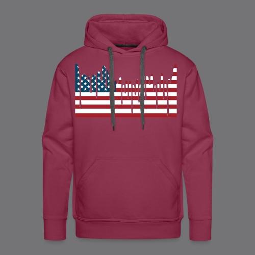USA FLAG Tee Shirts - Men's Premium Hoodie