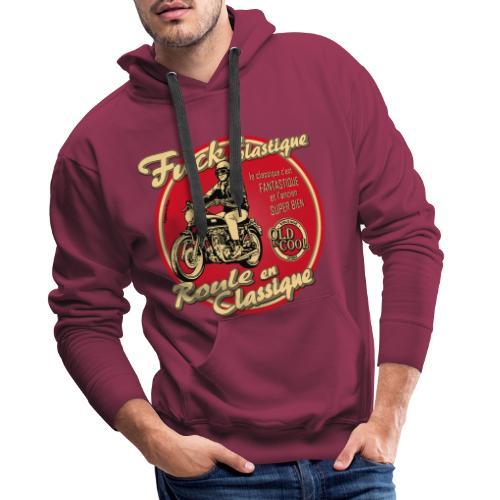 N 181 FUCK - Sweat-shirt à capuche Premium pour hommes