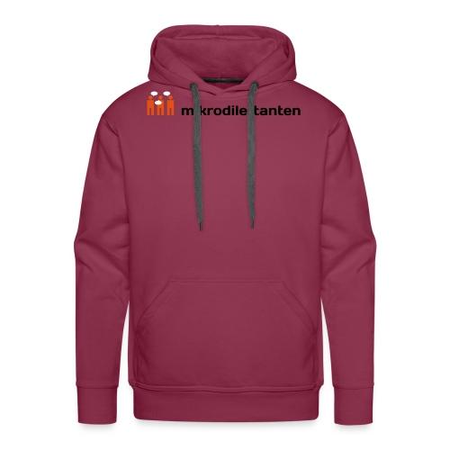 tshirt 1 weiss - Männer Premium Hoodie