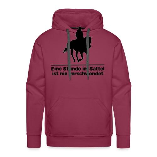 Pferd Pferdesprüche T-Shirt Pferdespruch Reiten - Männer Premium Hoodie
