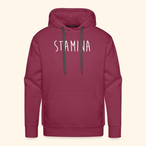 STAMINA - Sweat-shirt à capuche Premium pour hommes