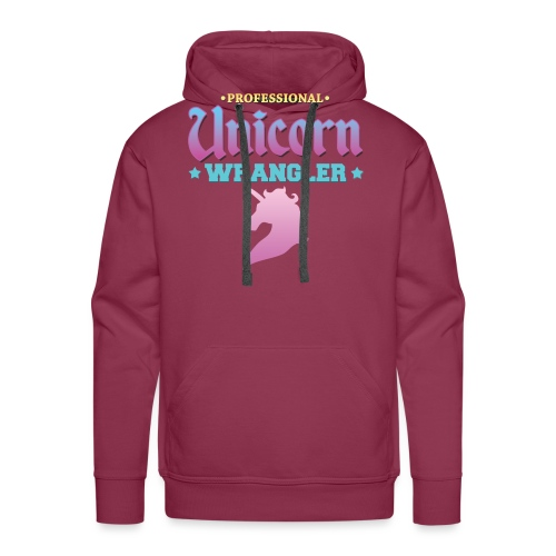 Professional Unicorn Wrangler - Men's Premium Hoodie