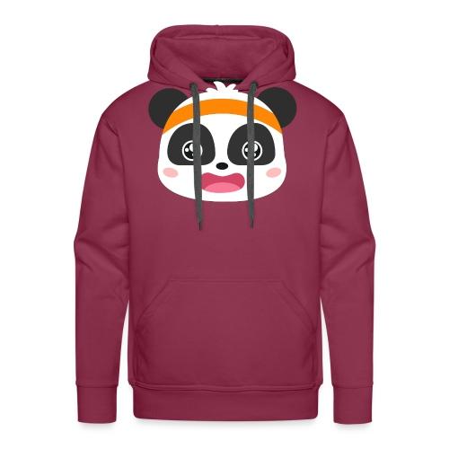bebe panda - Sudadera con capucha premium para hombre