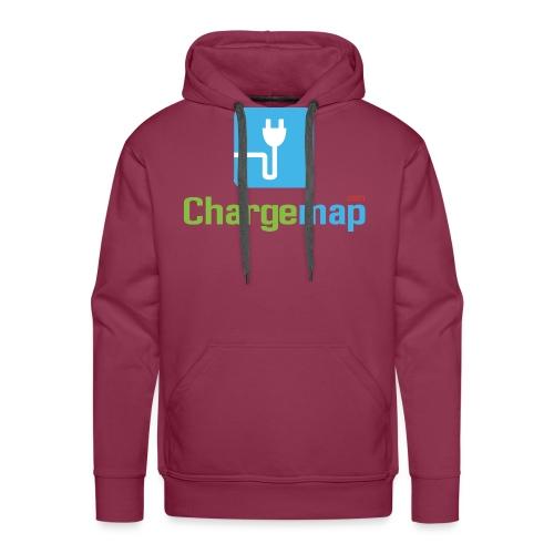 Logo ChargeMap - Sweat-shirt à capuche Premium pour hommes