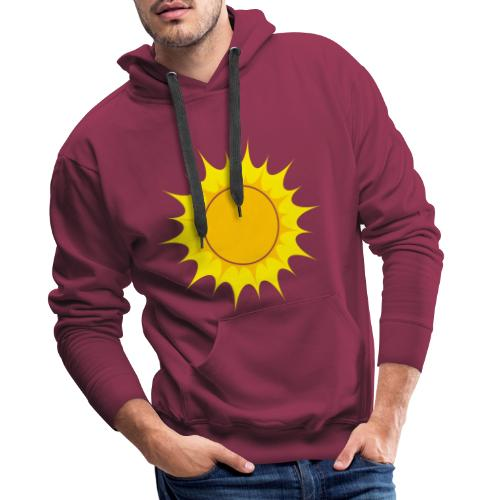 Sun / Sonne - Männer Premium Hoodie