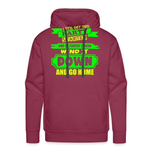 Get This Party Started - Men's Premium Hoodie