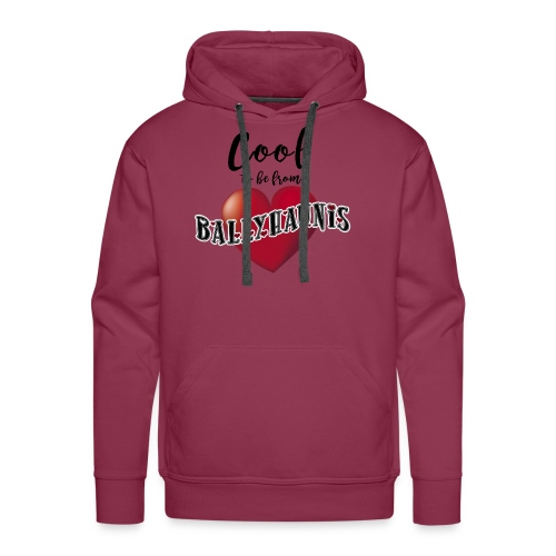 Ballyhaunis tshirt Recovered - Men's Premium Hoodie