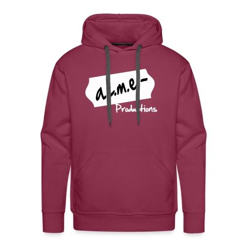 acmeproductionswhite - Männer Premium Hoodie