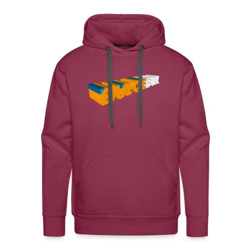 bulgebull logo 3d - Sudadera con capucha premium para hombre