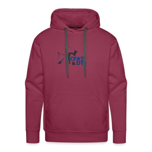 CFAT DT - Sweat-shirt à capuche Premium pour hommes