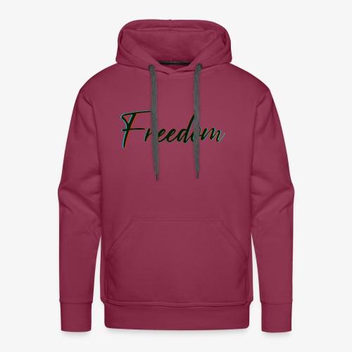 freedom - Felpa con cappuccio premium da uomo