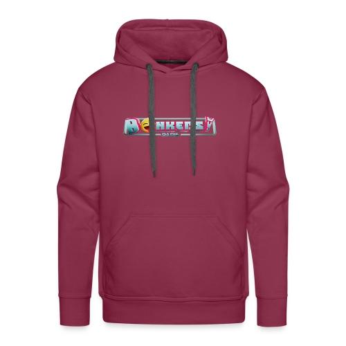 Bonkers! Paris Pink - Sweat-shirt à capuche Premium pour hommes