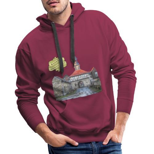 kloster michaelstein blankenburg 3 - Männer Premium Hoodie