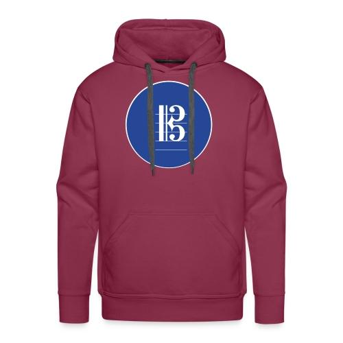 Znak playcelloobwtenor - Bluza męska Premium z kapturem