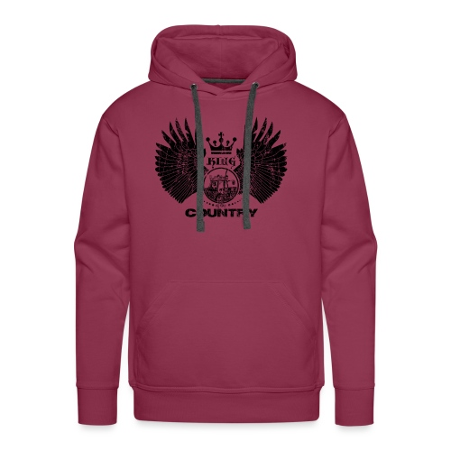 IH King of the country (black design) - Mannen Premium hoodie