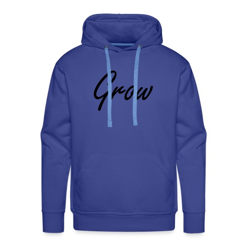 Grow - Männer Premium Hoodie