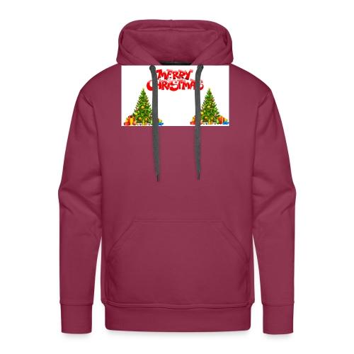 Merrry Christmas (Jule Logo!) - Premium hettegenser for menn