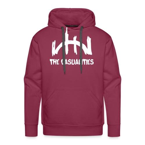 logo blanco recortado - Männer Premium Hoodie