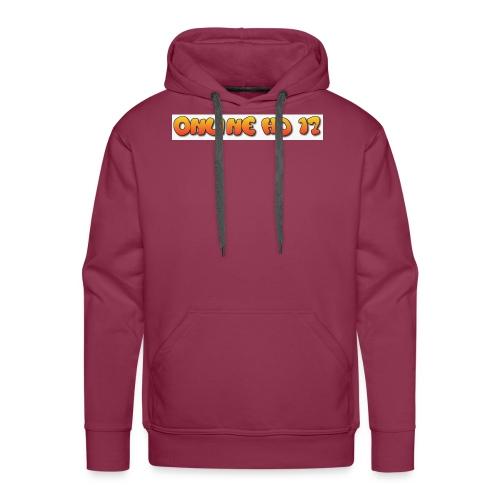 Mein logo zwei - Männer Premium Hoodie