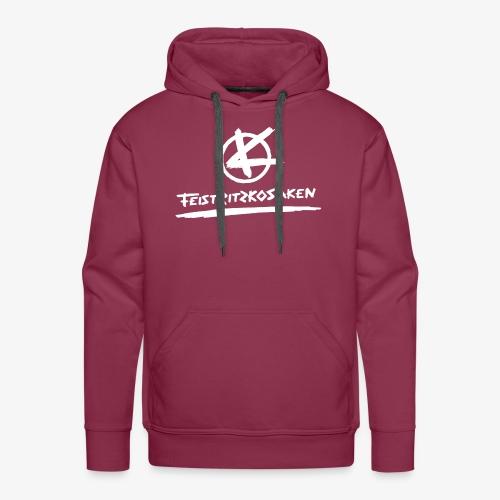 Feistritzkosaken Logo hell - Männer Premium Hoodie