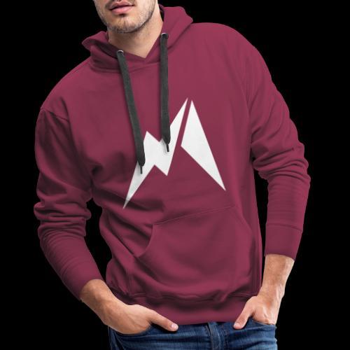 Matinsane - Sweat-shirt à capuche Premium pour hommes