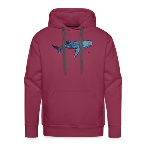 Whale shark - Sweat-shirt à capuche Premium pour hommes