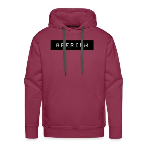 BEERIUM logo svart - Premiumluvtröja herr