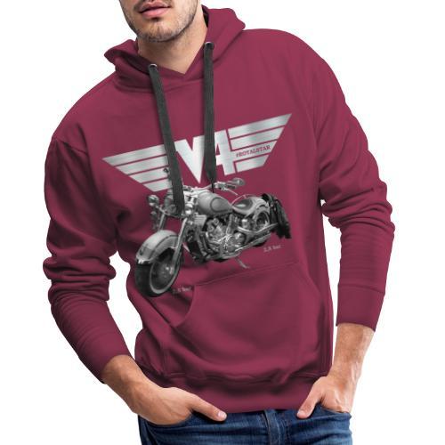 Royal Star silver Wings - Männer Premium Hoodie