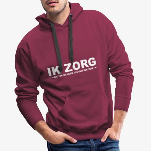 IK ZORG - Mannen Premium hoodie