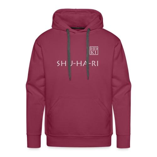 Shuhari HDKI white - Men's Premium Hoodie