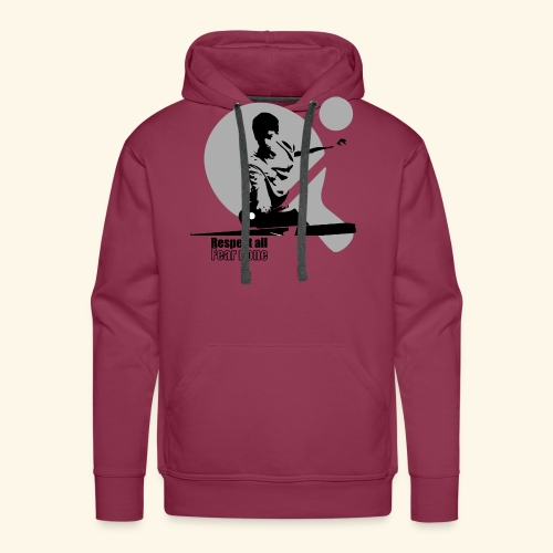 Respect All, Fear Nothing. Play Ping Pong - Männer Premium Hoodie